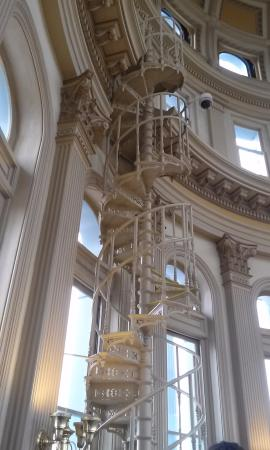 Colorado State Capitol: Beautiful Spiral Staircase In The Dome