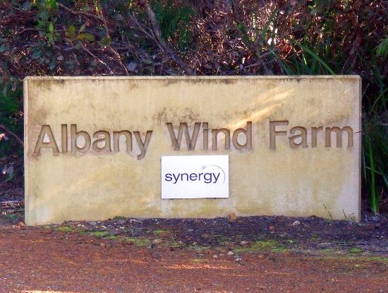 Albany, Avustralya: Main entrance sign