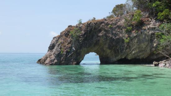Satun Province, Thailandia: ซุ้มประตูหิน...เกาะไข่