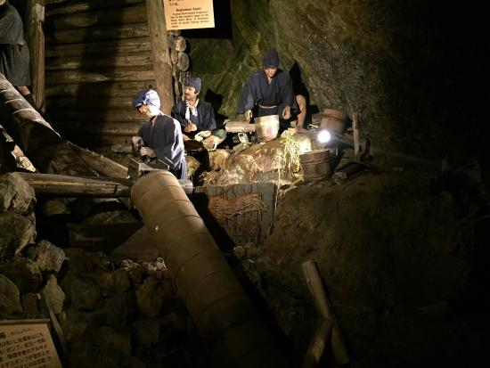 土産のキーホルダー - Picture of Historic Relic Sado Gold Mine, Sado - TripAdvisor