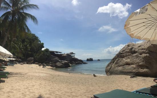Charm Churee Villa: Private beach
