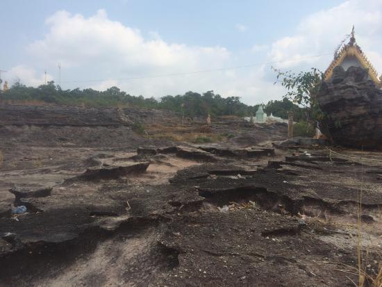 Siem Reap Province, Καμπότζη: Camping area on Koulen Mountain