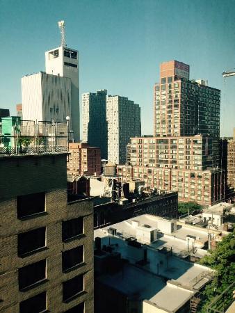 vista da janela picture of the watson hotel new york city tripadvisor. Black Bedroom Furniture Sets. Home Design Ideas