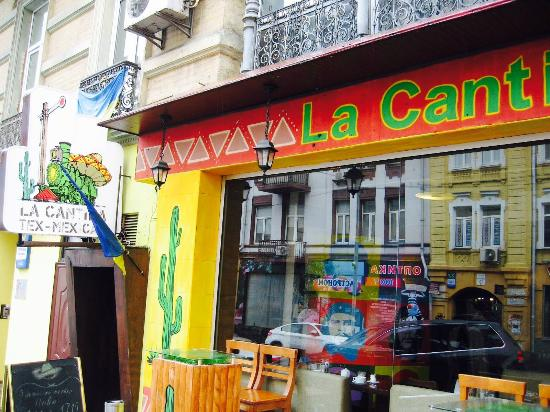 La Cantina : Easy to find with this stand-out street front!