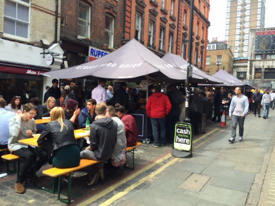 Photo of Farmers Market Street Food Union - Rupert Street SOHO at 49 Rupert Street, London W1D 7PF, United Kingdom
