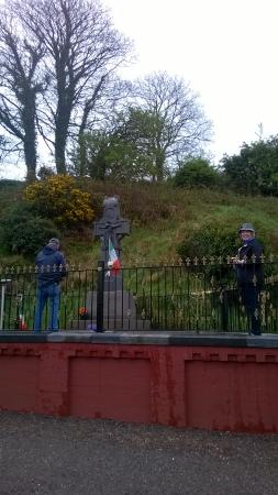 Killorglin, Irlanda: Quick stop at Beal na Blaith - Michael Collins memorial