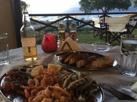 Drapanias, اليونان: seafood