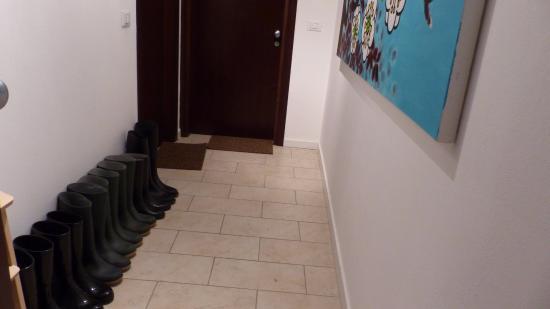 Residenza Ca Felice: les bottes pour l'acqua alta
