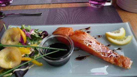 Le Vigosche : le saumon fumé