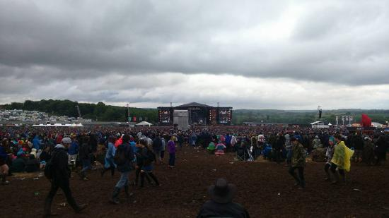 Castle Donington, UK: The cheers amount of people coming yearly