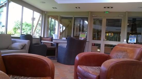 La Roche-Posay, Francia: Tisanerie, repas du déjeuner (inscription à l'arrivée)