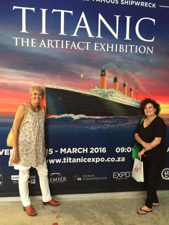 ‪Titanic Exhibition until 6th March‬