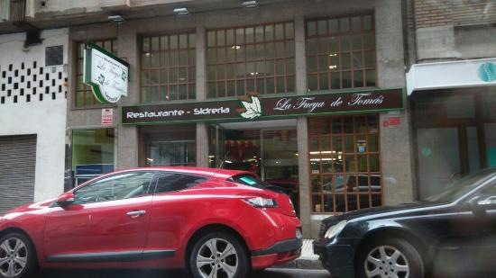 Restaurante Sidreria La fueya de Tomás