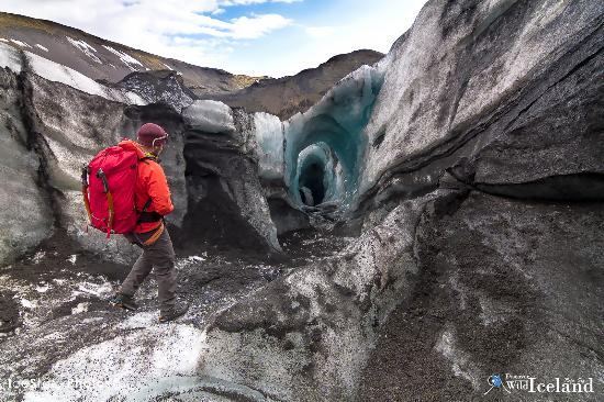 Vogar, Ισλανδία: Getting to the location on Glacier Sólheimajökull