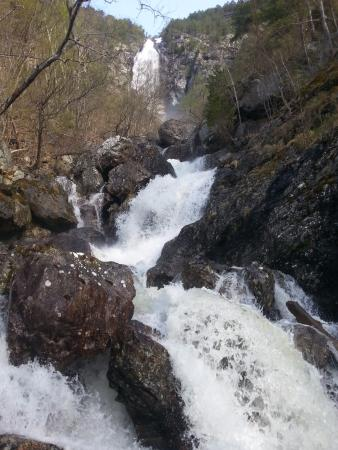 Stodnafossen Waterfalls