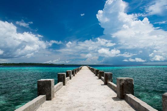 Wakatobi, إندونيسيا: Pelabuhan Tomia - Wakatobi