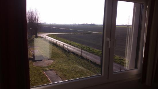 Cosyade : Uitzicht vanuit kamer 5.