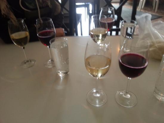 Region Bratislava, Slowakei: Vino..loved the red..a highlight