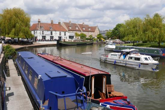 Ely, UK: The River Great Ouse. Pic Michael Webb