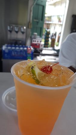 Best Authentic Rum Punch On The Island
