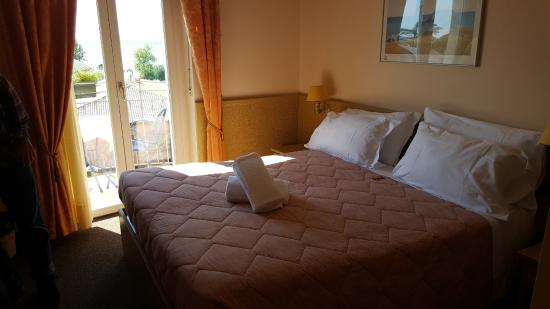 Hotel Ventaglio: Our lovely room!