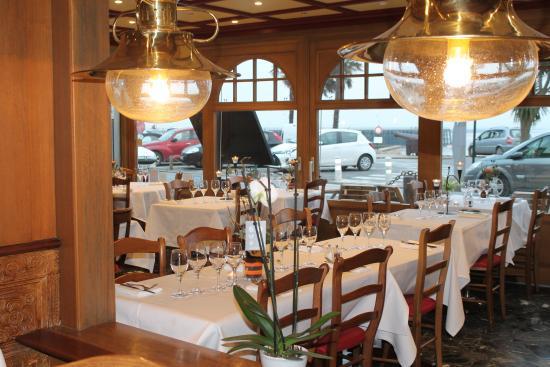 Le Cancalais : Salle de restaurant