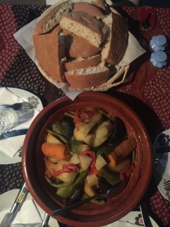 La Vallée des Dunes: Our 2nd dinner :D