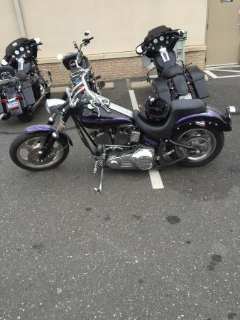 Weirs Beach, NH: Taking my Harley to bike week!! Looking forward to it!!