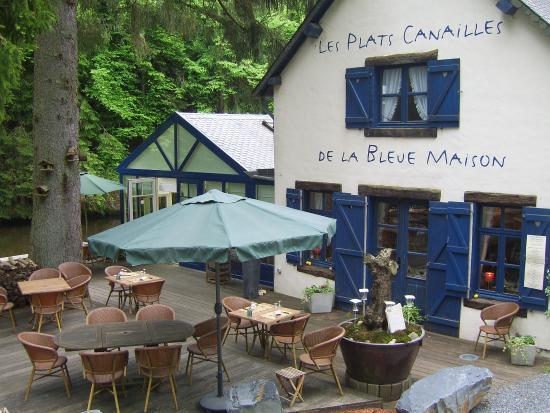 Habay-la-Neuve, Belgia: Terasse