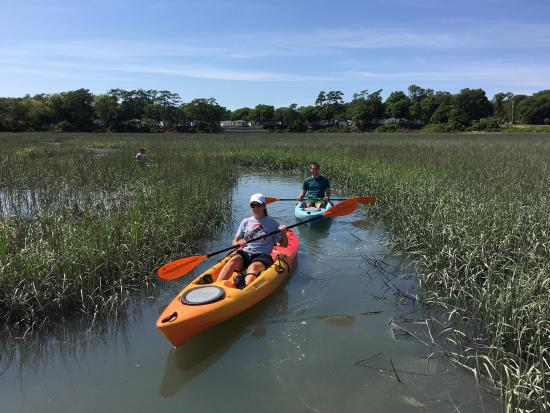 The Best Kayaking In North Myrtle Beach Picture Of J L Kayaks