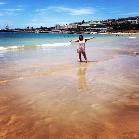 Mossel Bay, Sudáfrica: SANTOS is to my opinion(and I'm a local) the most popular beach to be and super safe to swim for