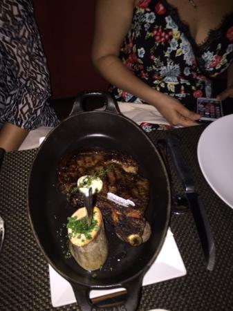 This is the Bone in ribeye - Picture of BLT Steak, Las Vegas