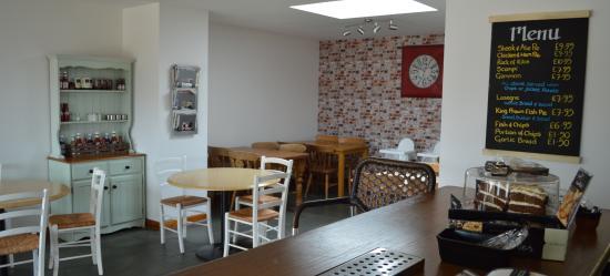 Bletchingdon, UK: cafe