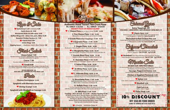Sami's Pizza & Grill: MENU