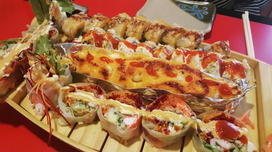 Fuzen Anese Fusion Cuisine Best Sushi Rolls