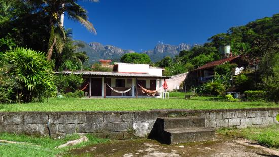 Serra dos Orgaos National Park, RJ: Our Rooms & View from the yard