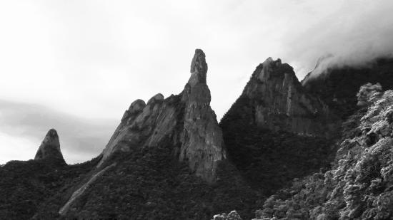 Serra dos Orgaos National Park, RJ: The Famous Finger of God just up the road