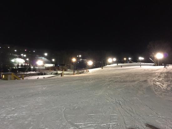 Portage, WI: Vista nocturna