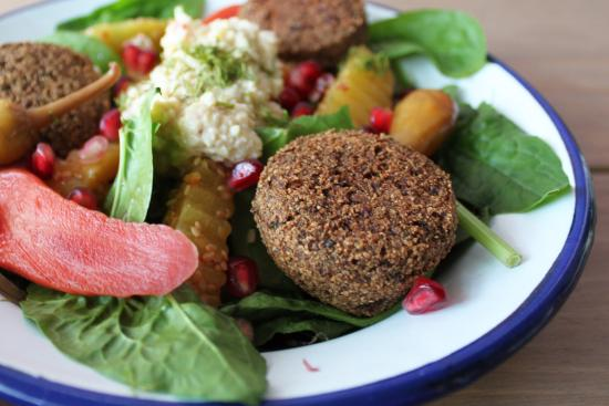 Photo of Middle Eastern Restaurant Kauffmann Falafel & Beer at Reinier Claeszenstraat 4b H, Amsterdam 1056 WJ, Netherlands