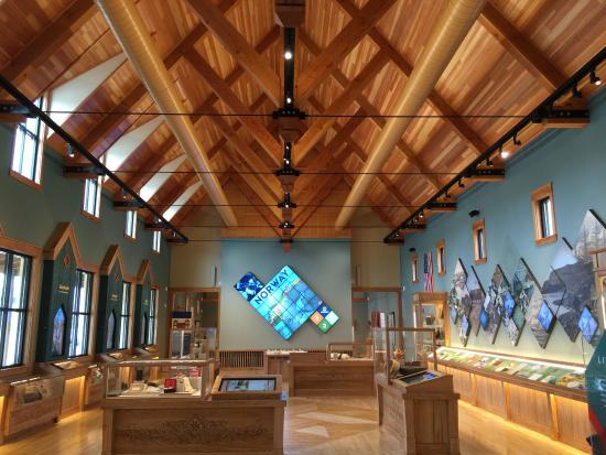 Stoughton, WI: The main gallery at Livsreise is a perfect example of architecture blended with storytelling