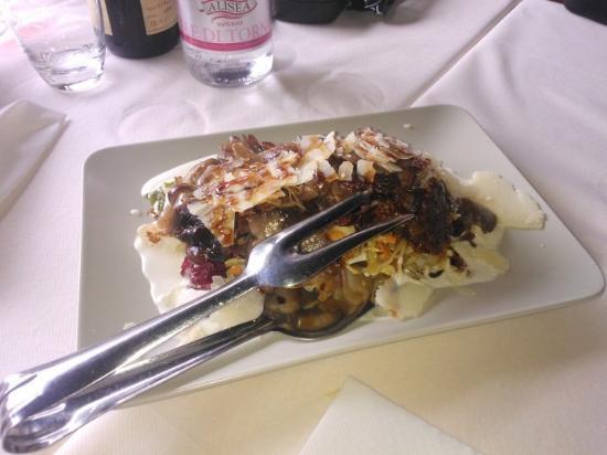 Nonantola, Italia: Insalata di porchetta....che booonnnaa!!