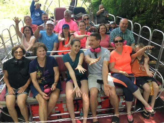Tom & Jerry's Airboat rides Orlando Tampa The Villages