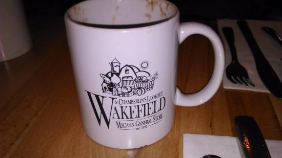 Wakefield, Kanada: Café da manhã