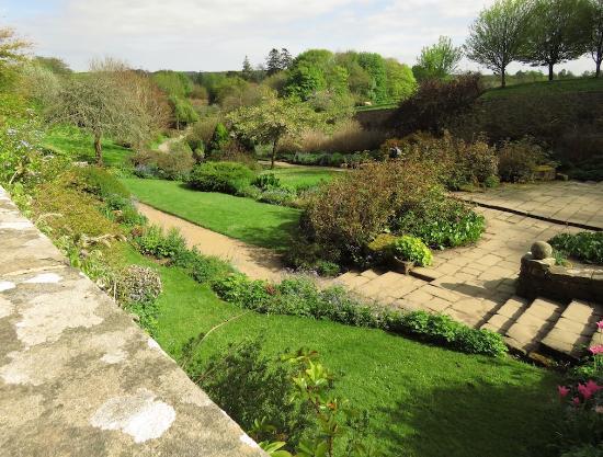 Morpeth, UK: walled garden