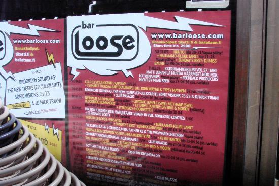 Bar  Loose