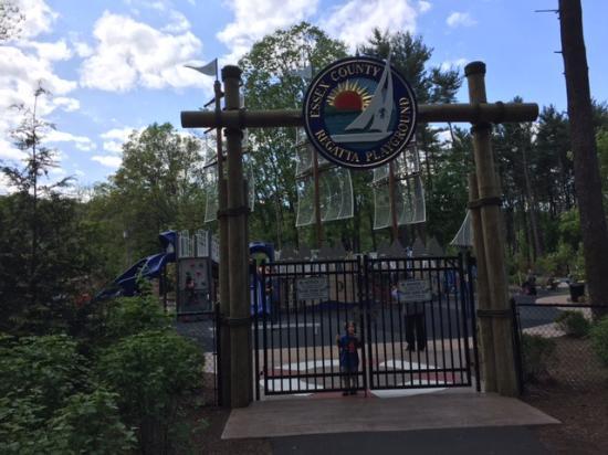 Essex County Regatta Playground: Entrance to Regatta Playground