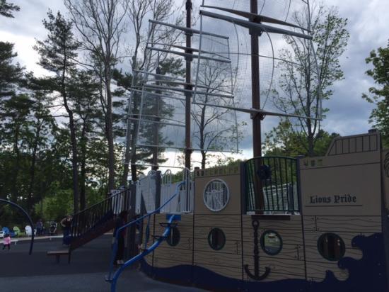 Essex County Regatta Playground: Older kids' play area