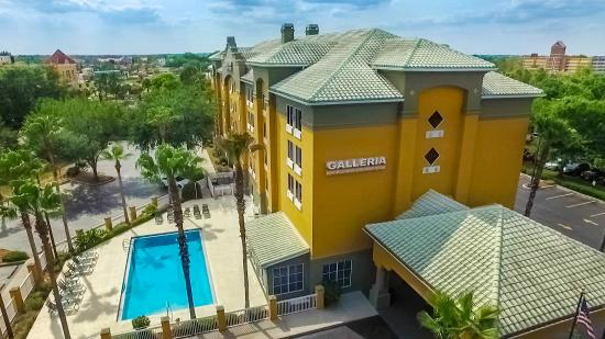 Hotel Exterior Picture Of Galleria Palms Hotel Kissimmee Tripadvisor