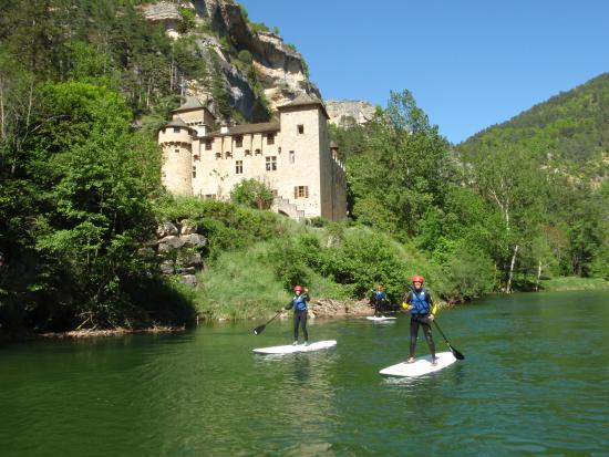 La Malene, France: Stand up paddle dans les gorges du Tarn