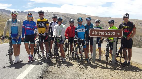 Alhama de Granada, Espanha: Ride with Andalucia´s Official Operator for La Vuelta - Ride the Sierra Nevada & Pico Veleta wit